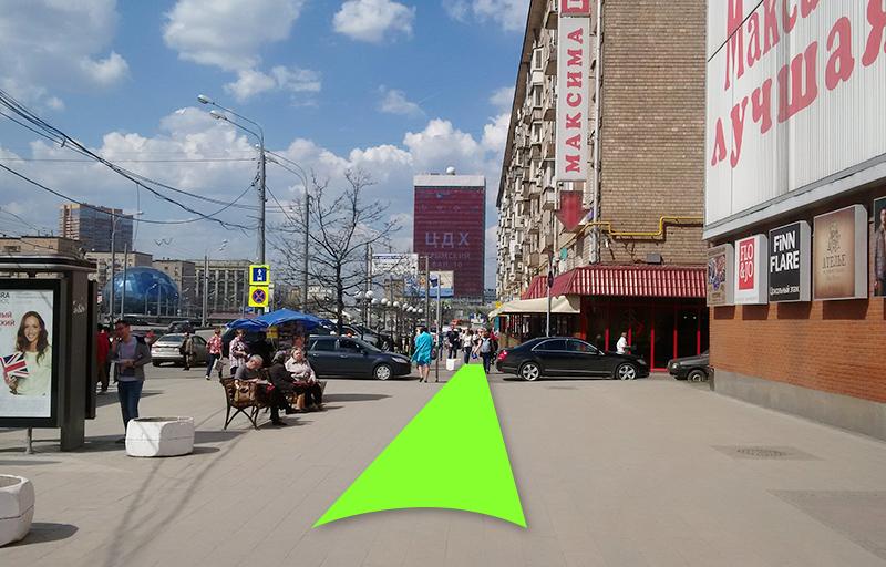 сторону Балтийской улицы.